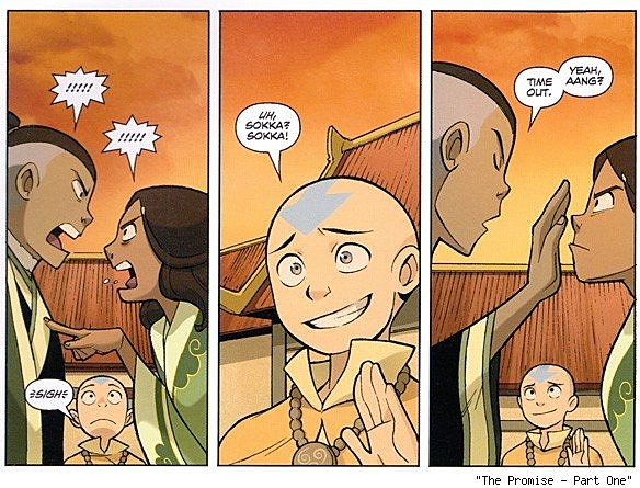 Gene Yang On The Avatar The Last Airbender Comics Leading To