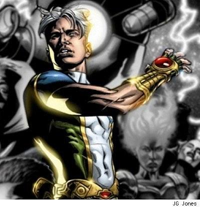 Sexy male super heros