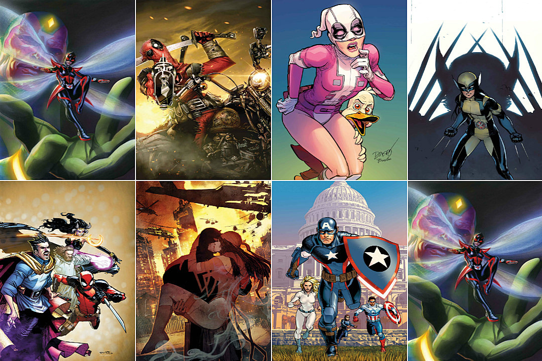 Marvel Comic Book Releases For May 2016