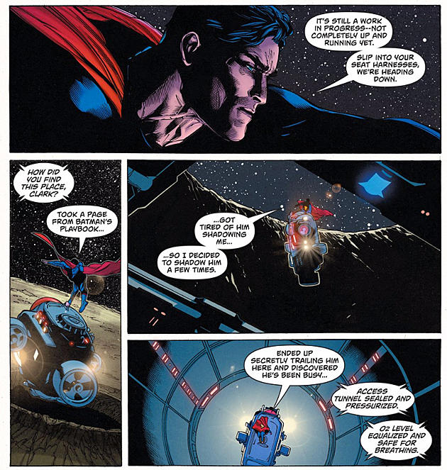 icymi superman and lois fought the eradicator on the moon
