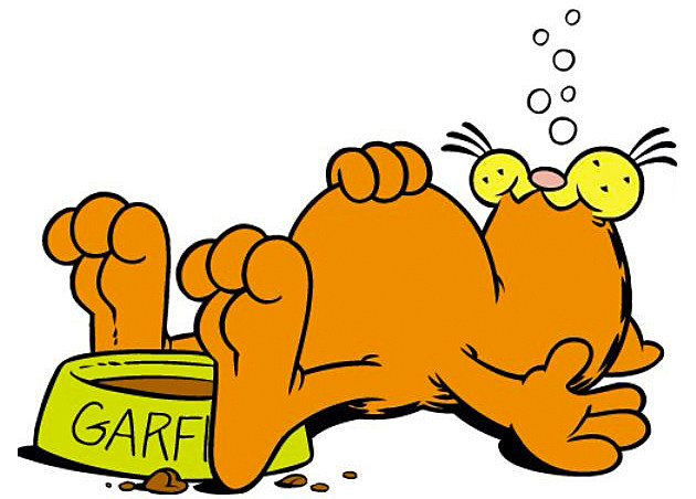 garfield the cat is not non binary but apparently we thought he was