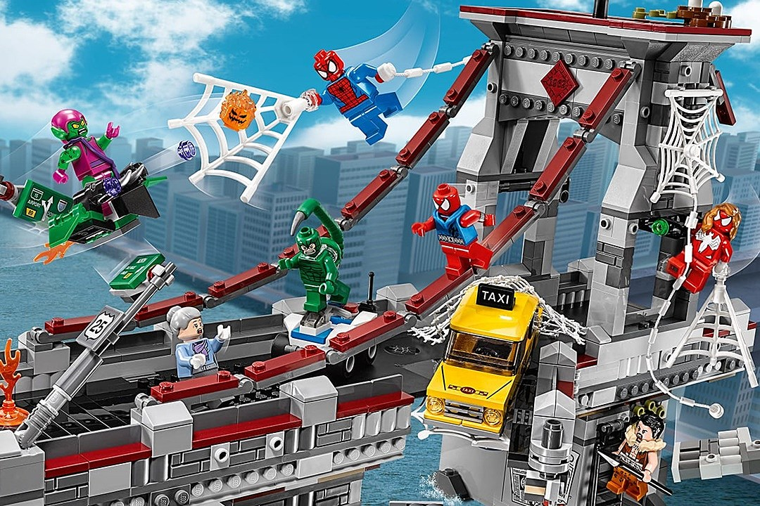 the definitive ranking of every lego spider man minifigure