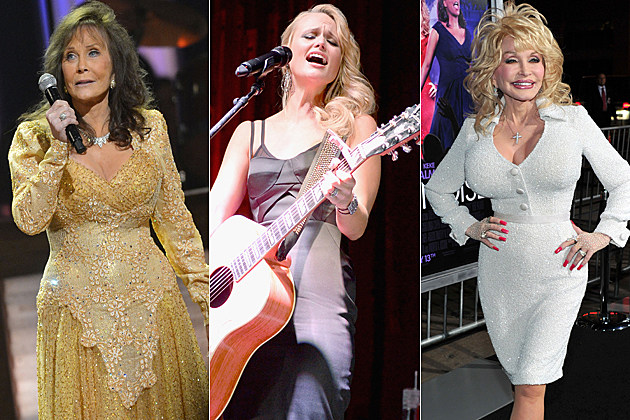 Country songs sung by females