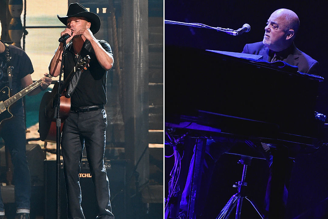 Watch Kenny Chesney and Billy Joel Duet in Pittsburgh
