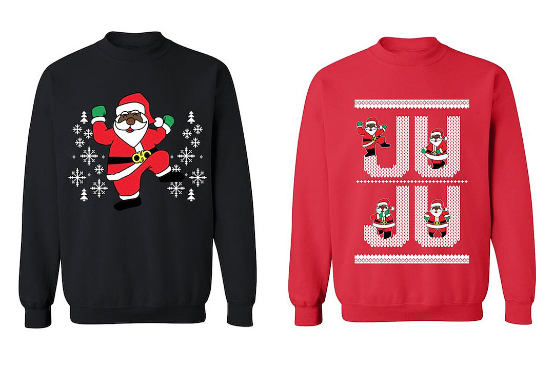 2 Chainz Launches New Line Of Dabbin Santa Ugly Christmas Sweaters