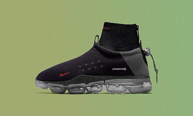 Vapormax Acronym Flyknit Moc Nike X fq8Hqw