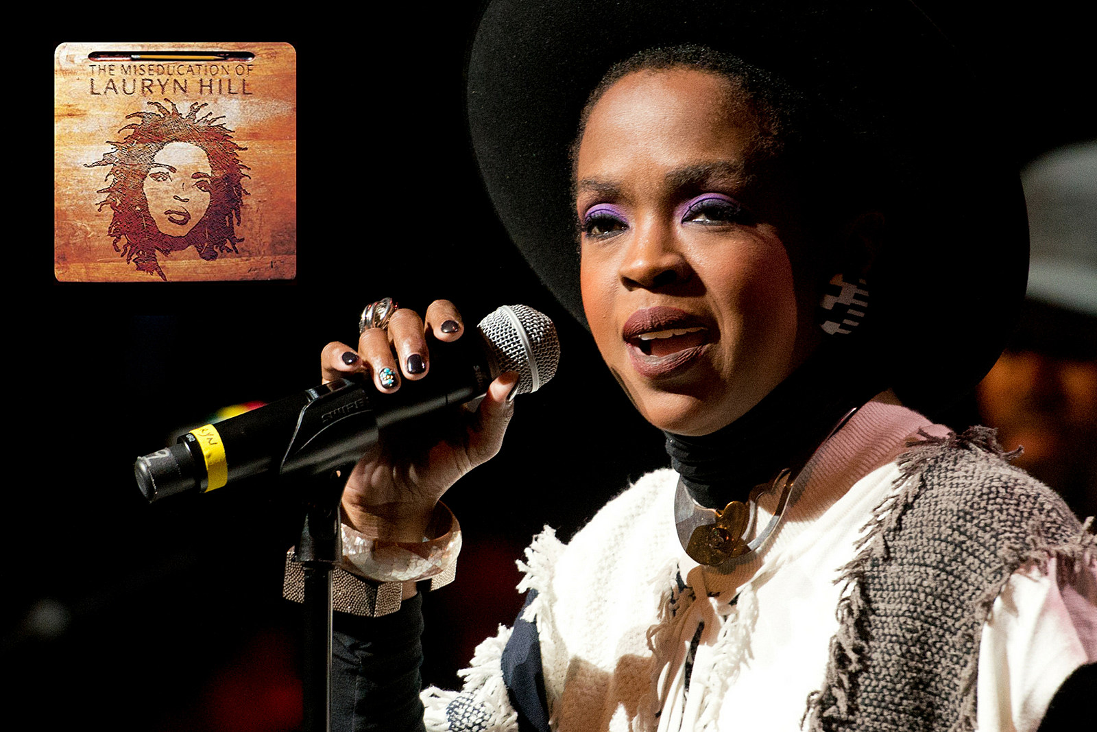 Lauryn hill welcome baby no 6