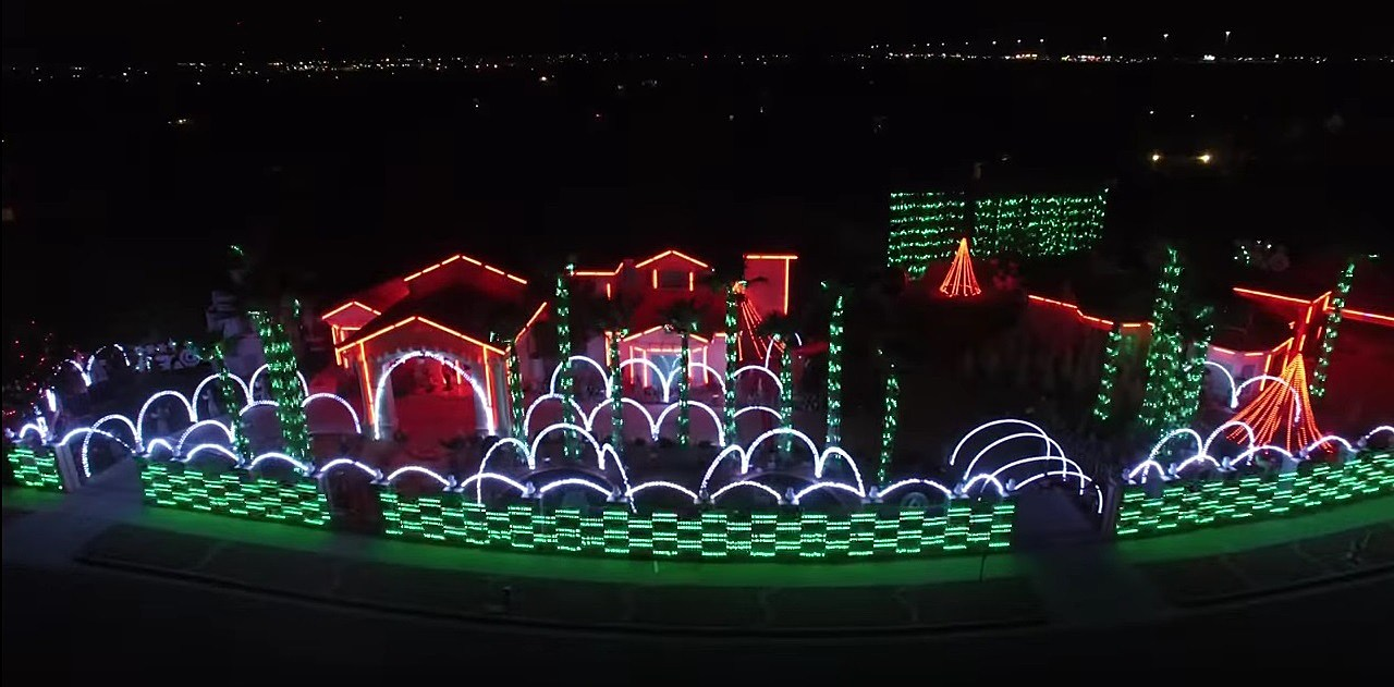 2017 Fred Loya Christmas Light Show Schedule