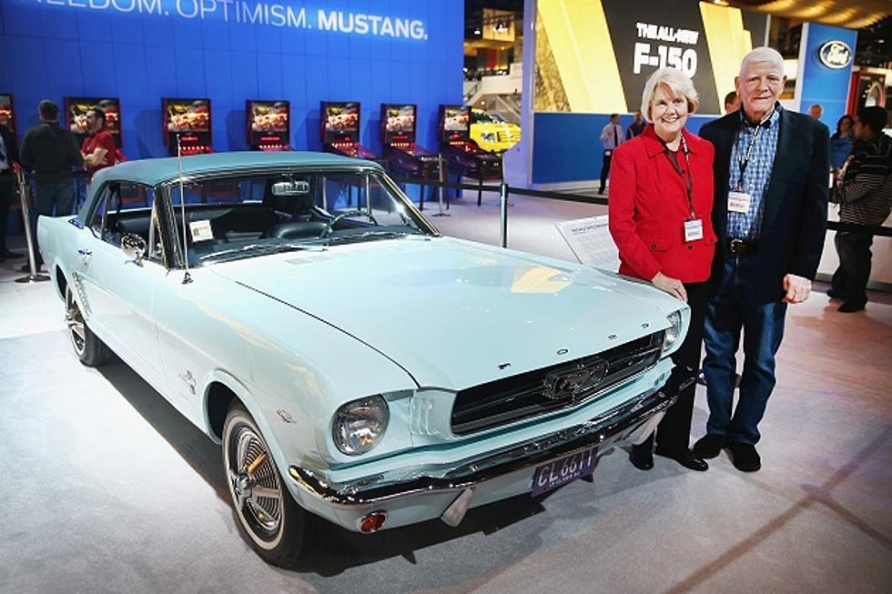 Richard S Ride Extra Happy Birthday Mustang