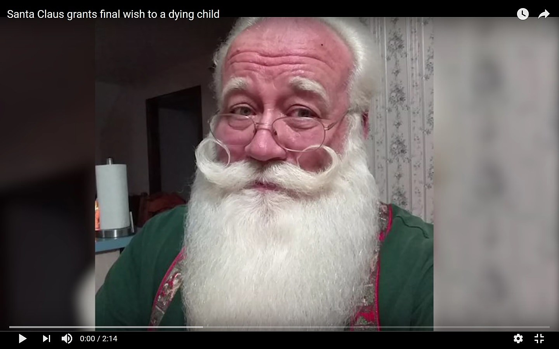 Santa grants a wish