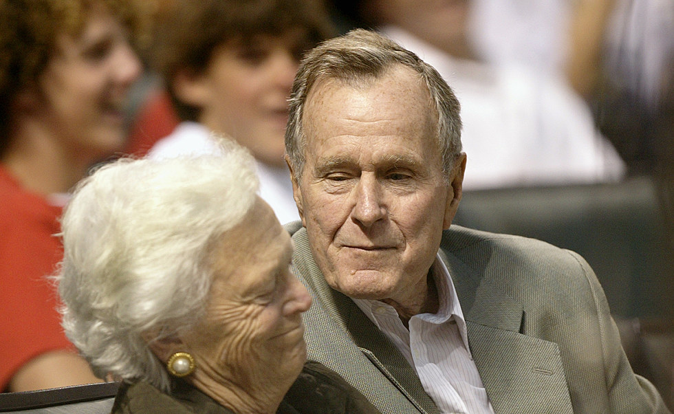 World War Ii Hero And Former President George H W Bush Has Died