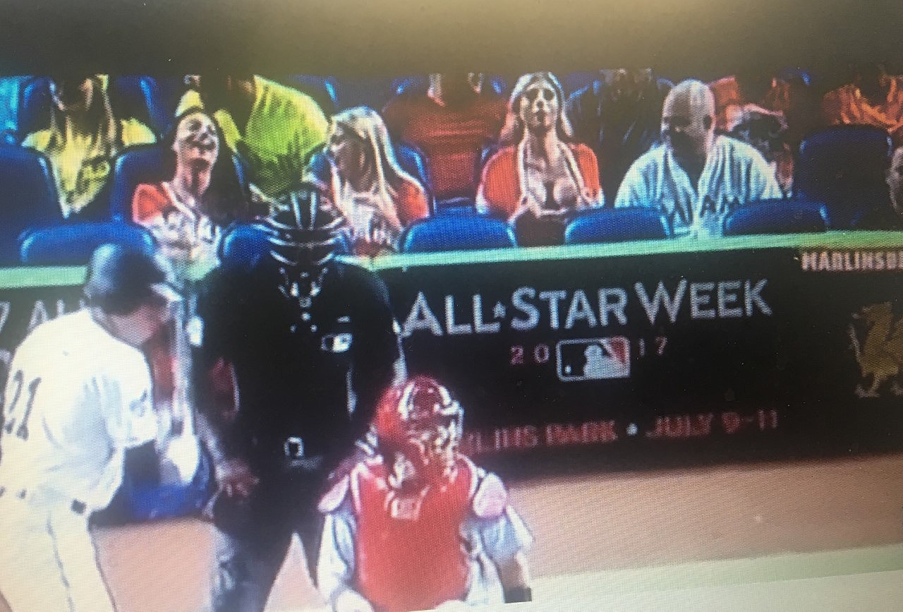 Woman Flashes Cardinal Pitcher Must Watch