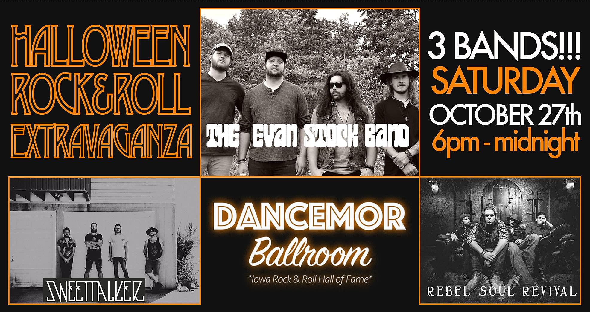 halloween rock & roll show this saturday in swisher