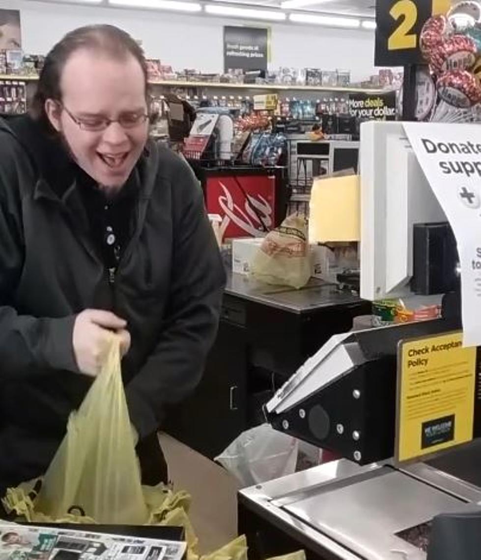 Image result for dollar store clerk