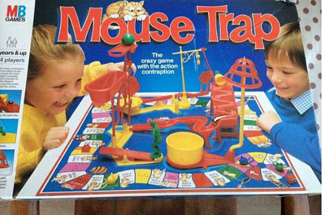 Board games from the 80s