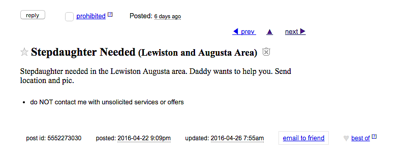 Lewiston craiglist