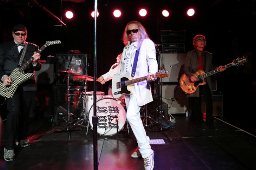 Win A Guitar Autographed By Cheap Trick