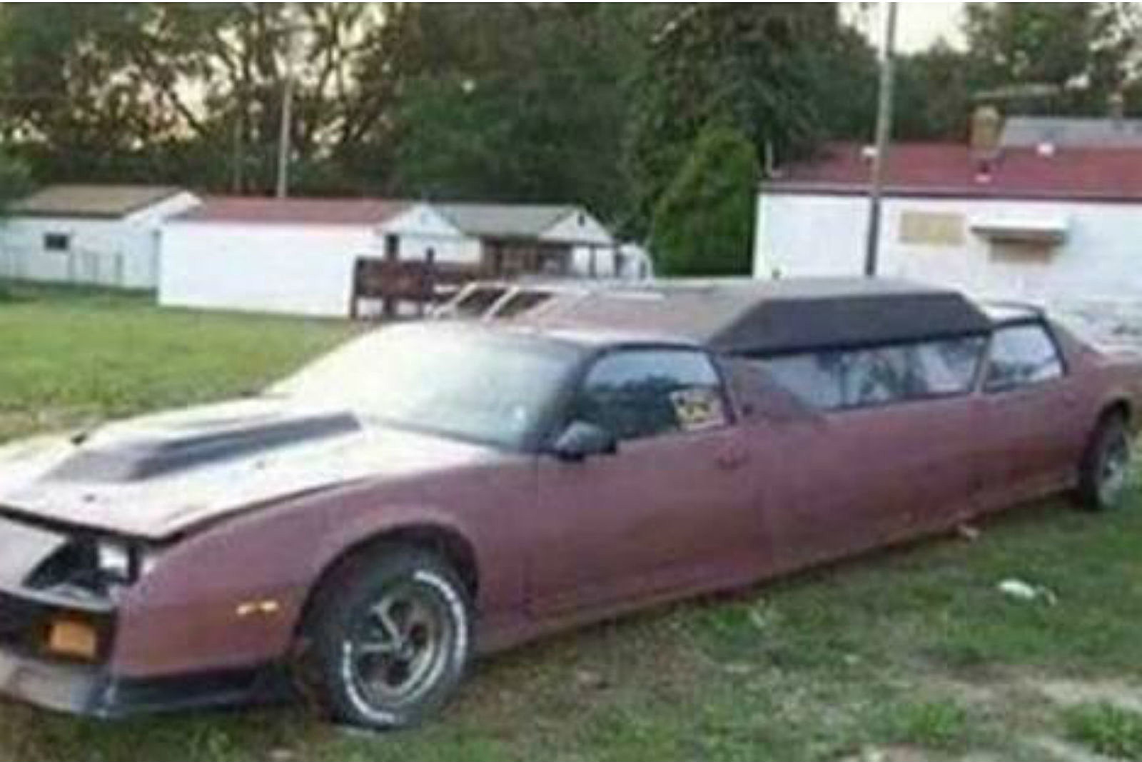 This Maine Craigslist Ad For An 86 Camaro Limo Just Can T Be Real
