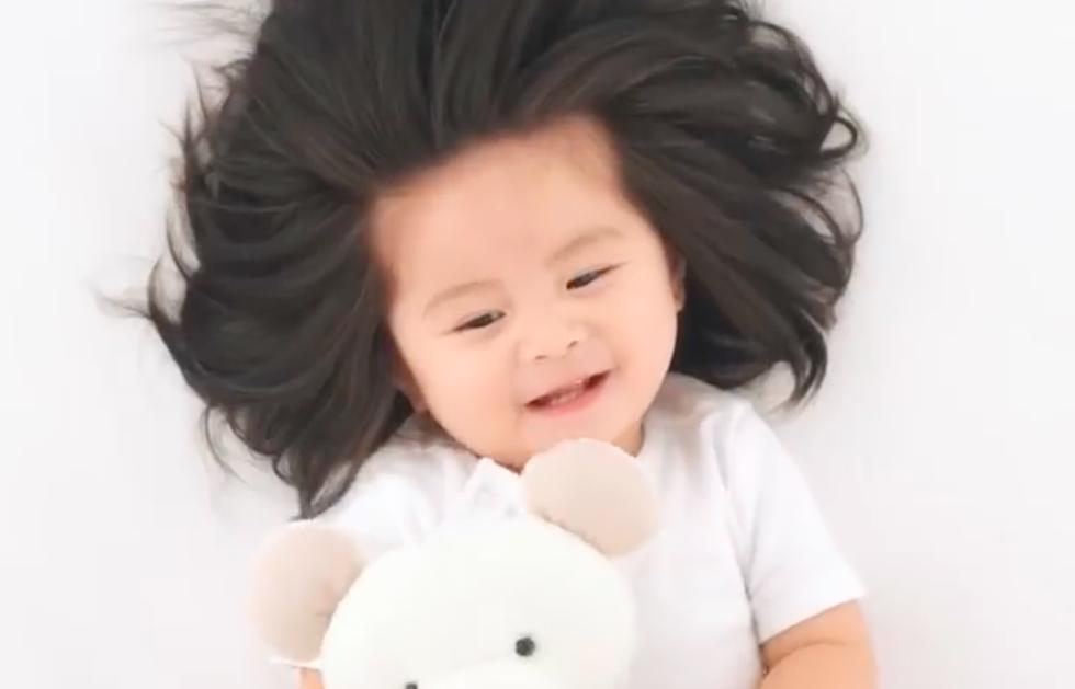 Baby Named New Spokesmodel For Pantene