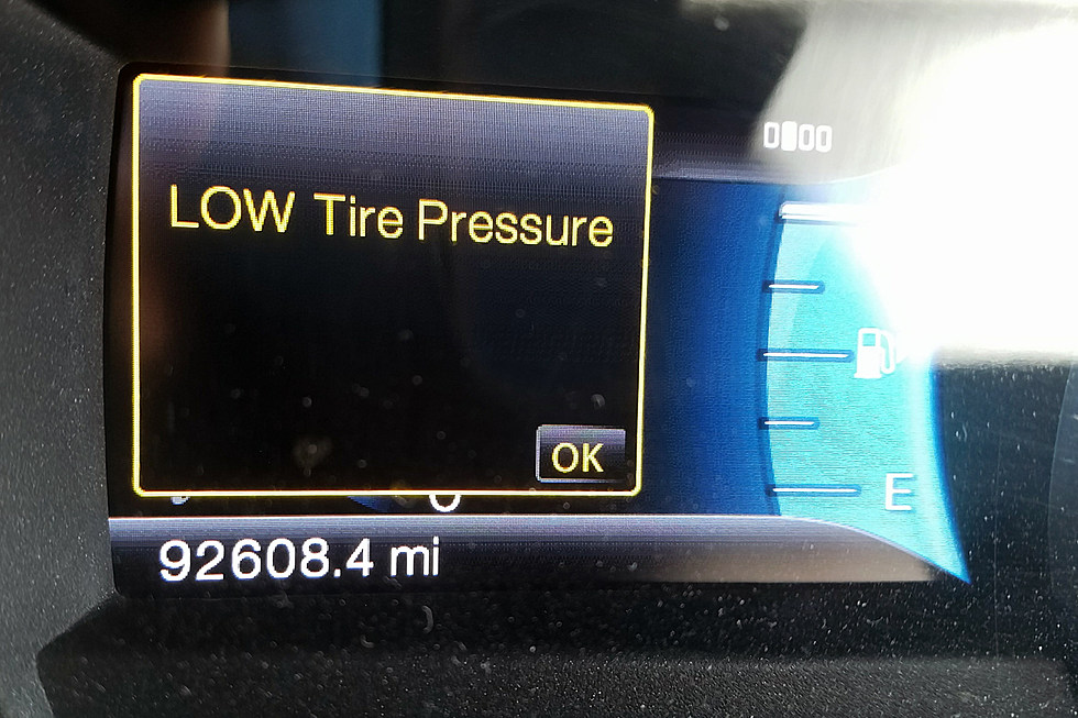 Cold Weather Is Screwing Up Your Tire Pressure