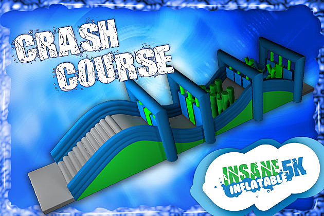 Crash Course Insane Inflatable 5K Obstacle