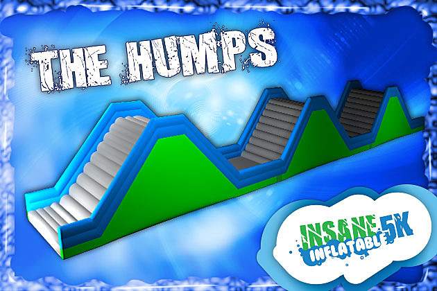 The Humps Insane Inflatable 5K Obstacle