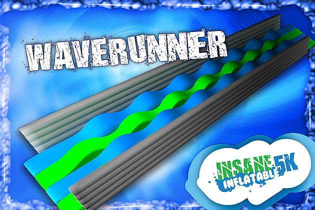 Waverunner Insane Inflatable 5K Obstacle