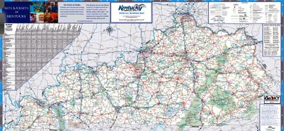 2017 Kentucky Official Highway Map is Now Available