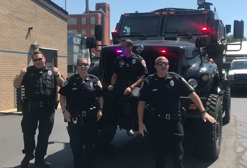 Owensboro Police Department Responds To Viral Lip Sync Challenge