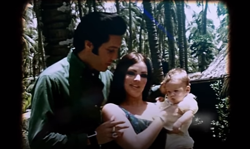 Elvis, Lisa Marie Presley Duet on New Gospel Album [VIDEO]