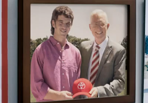Image of: Views 1045 The Team Espn Radio Eli Manning Stars In Funny Toyota Commercial video