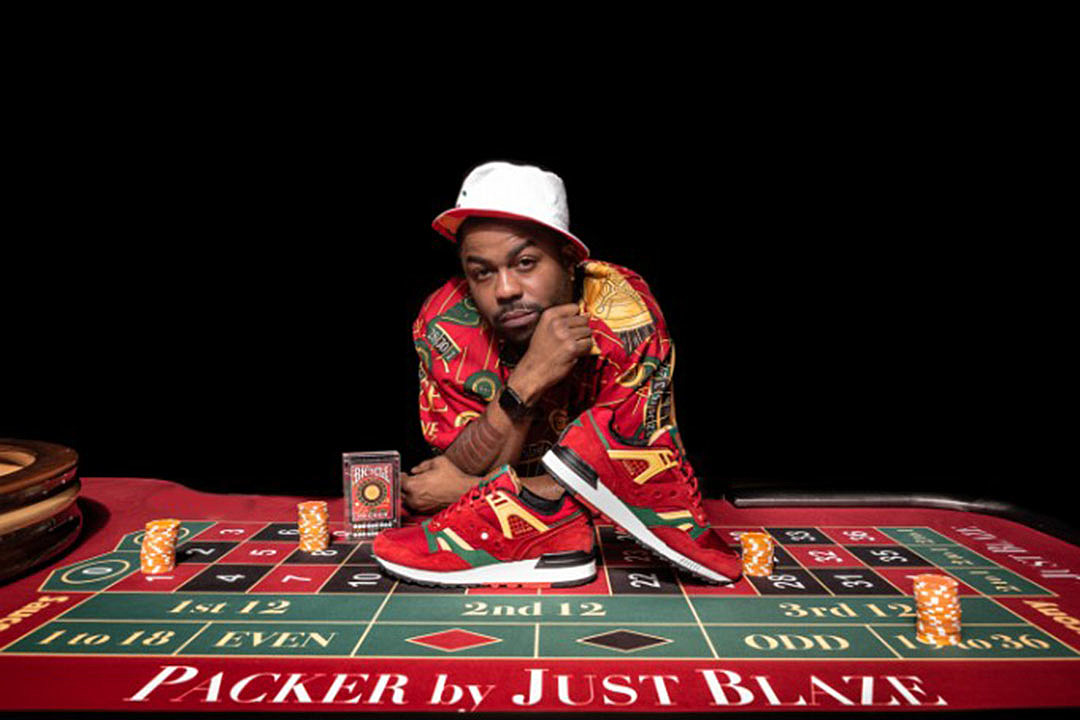 """427476b313e18c Just Blaze Pays Homage to the """"Casino"""" Polo Shirt With New Packer Shoes  Collab - XXL"""