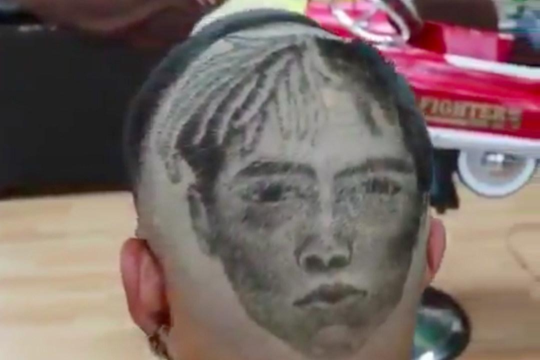 kid gets xxxtentacion shaved into his head xxl