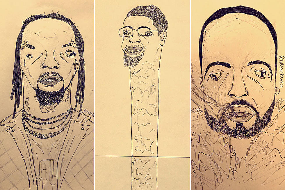 australian artist s hilarious drawings of rappers are going viral xxl