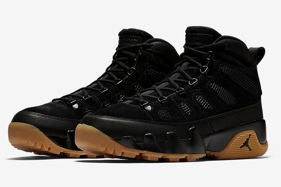 nike unveils new air jordan 9 nrg boot in black xxl