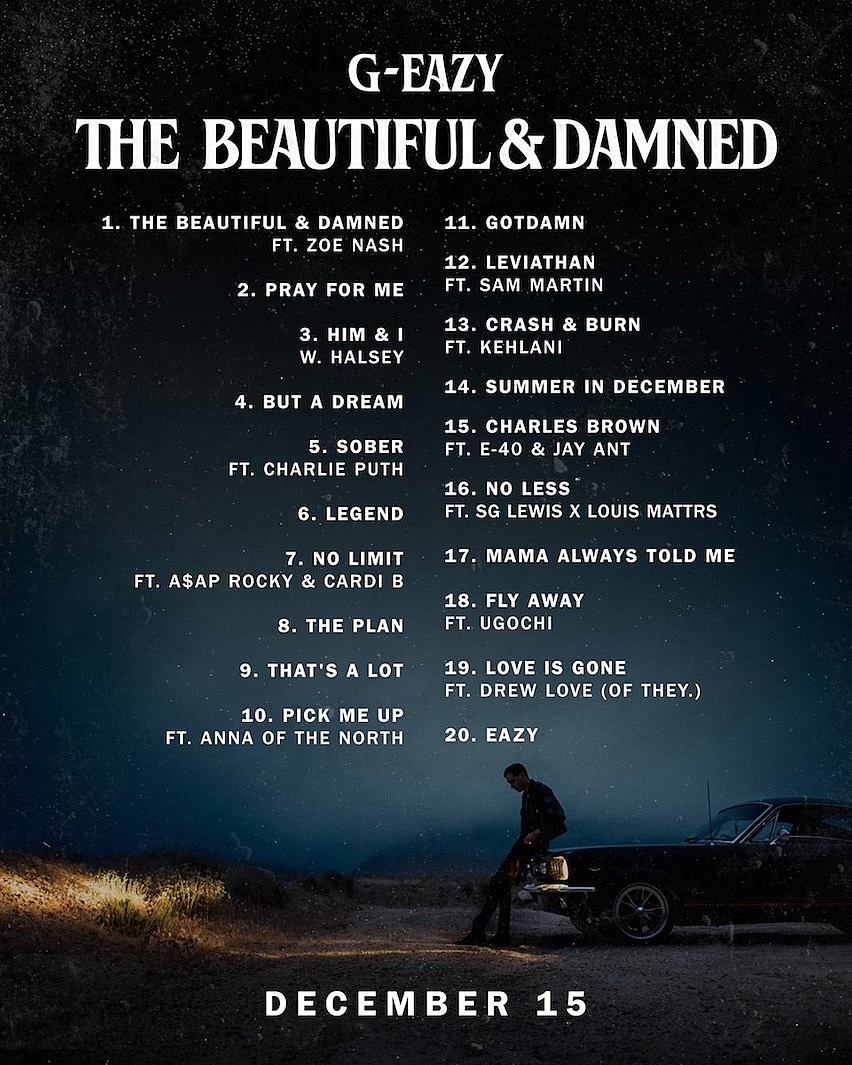 Asap Rocky And More On G Eazys The Beautiful Damned Album Xxl