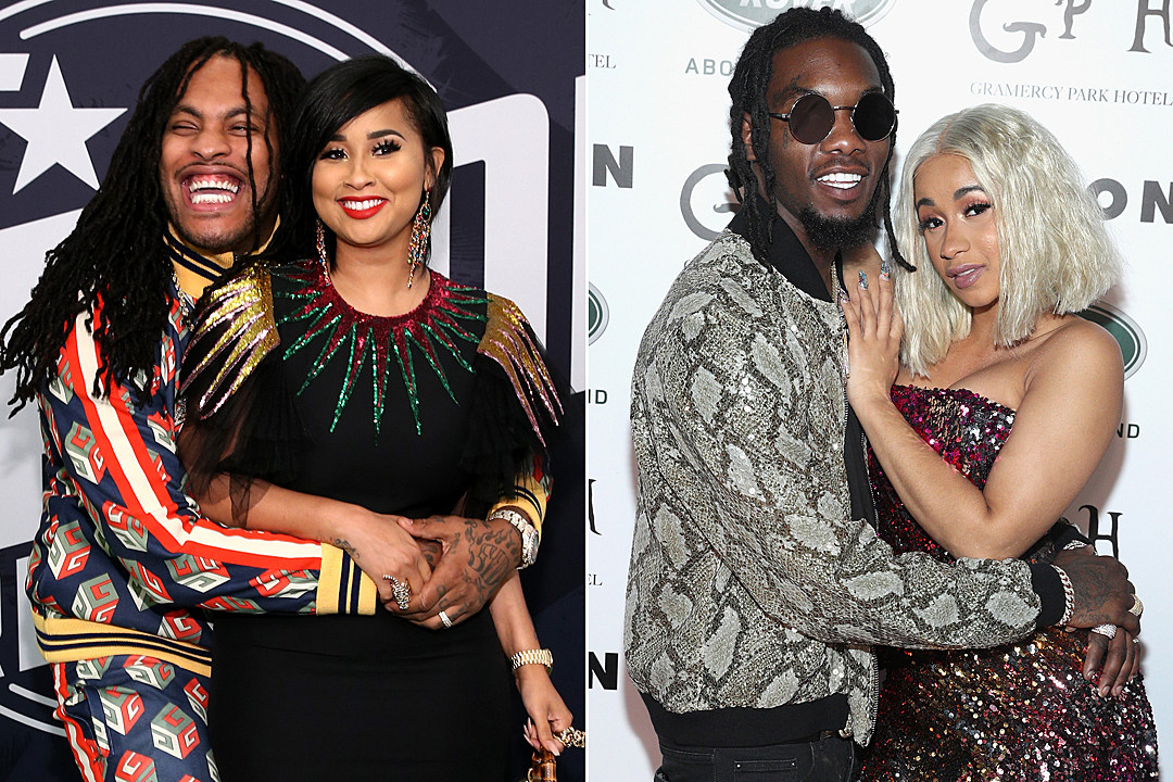 Waka Flocka Flame Tammy Rivera Offset Cardi Gives Marriage Advice To And