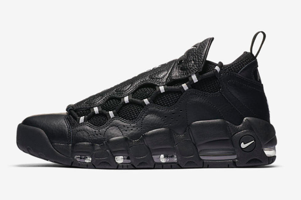 nike releases new air more money sneakers in black xxl