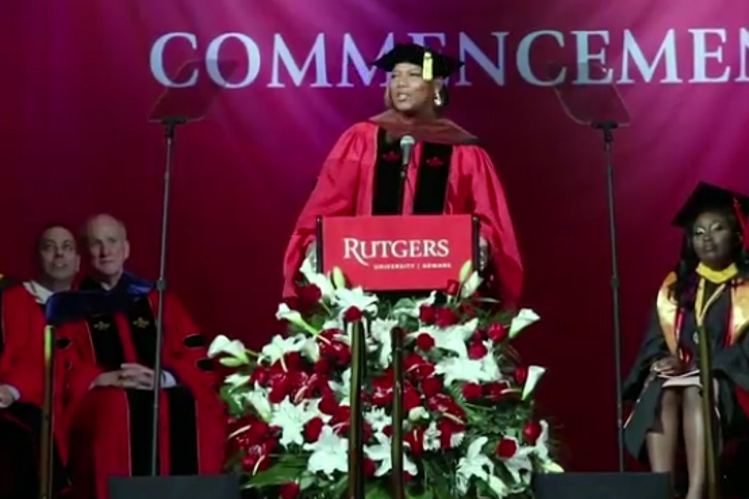 Queen Latifah Receives Honorary Degree From Rutgers University Xxl