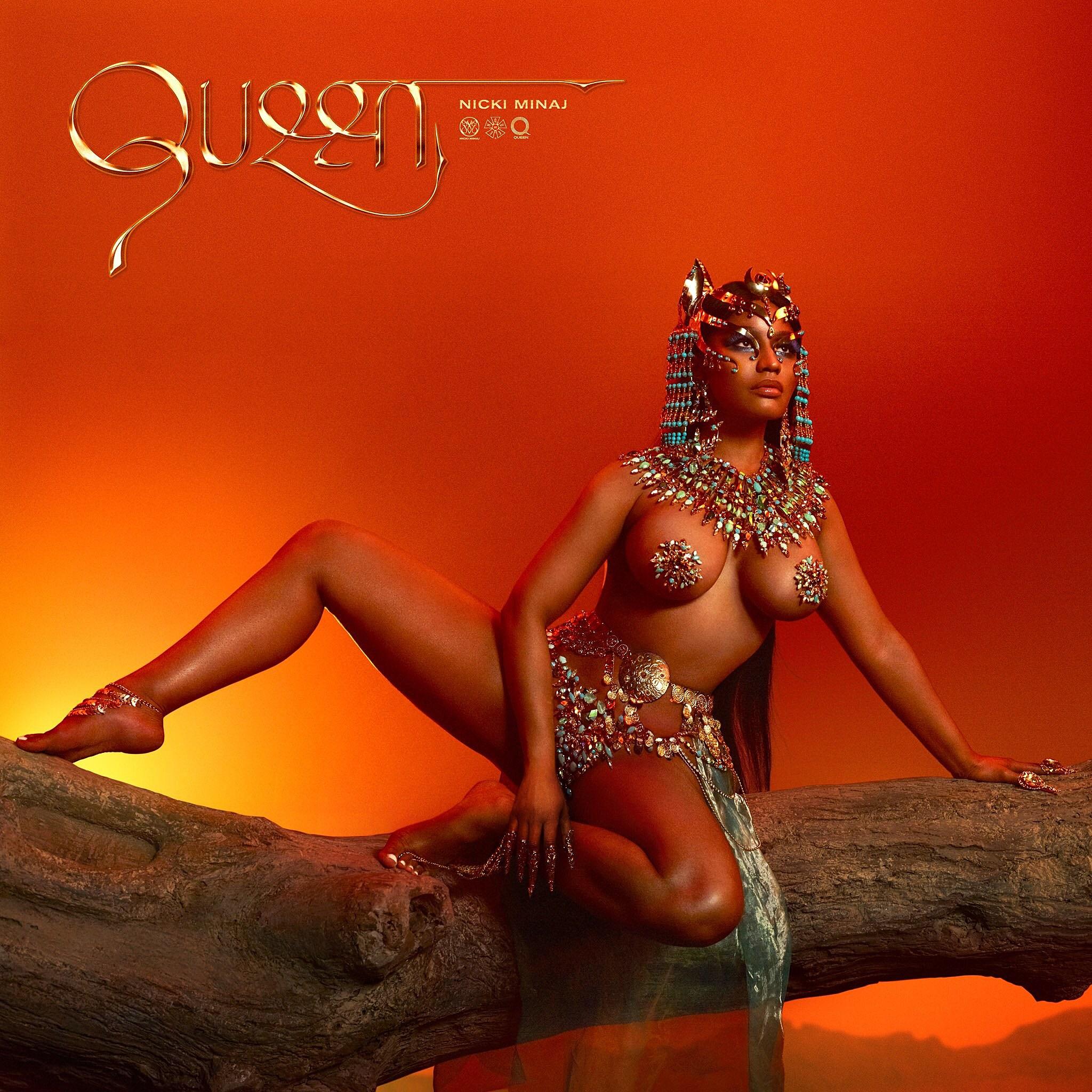 Resultado de imagem para queen nicki minaj cover art album