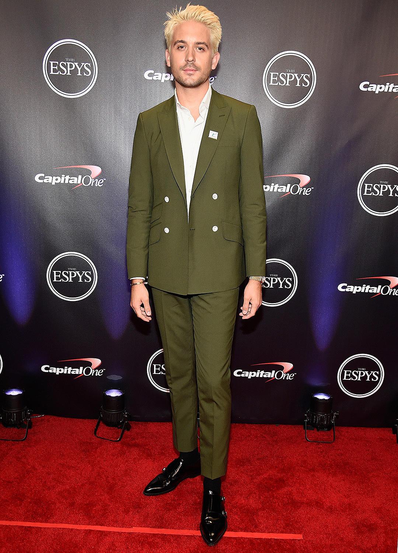 G Eazy Shows Off New Blond Hair At 2018 Espy Awards Xxl