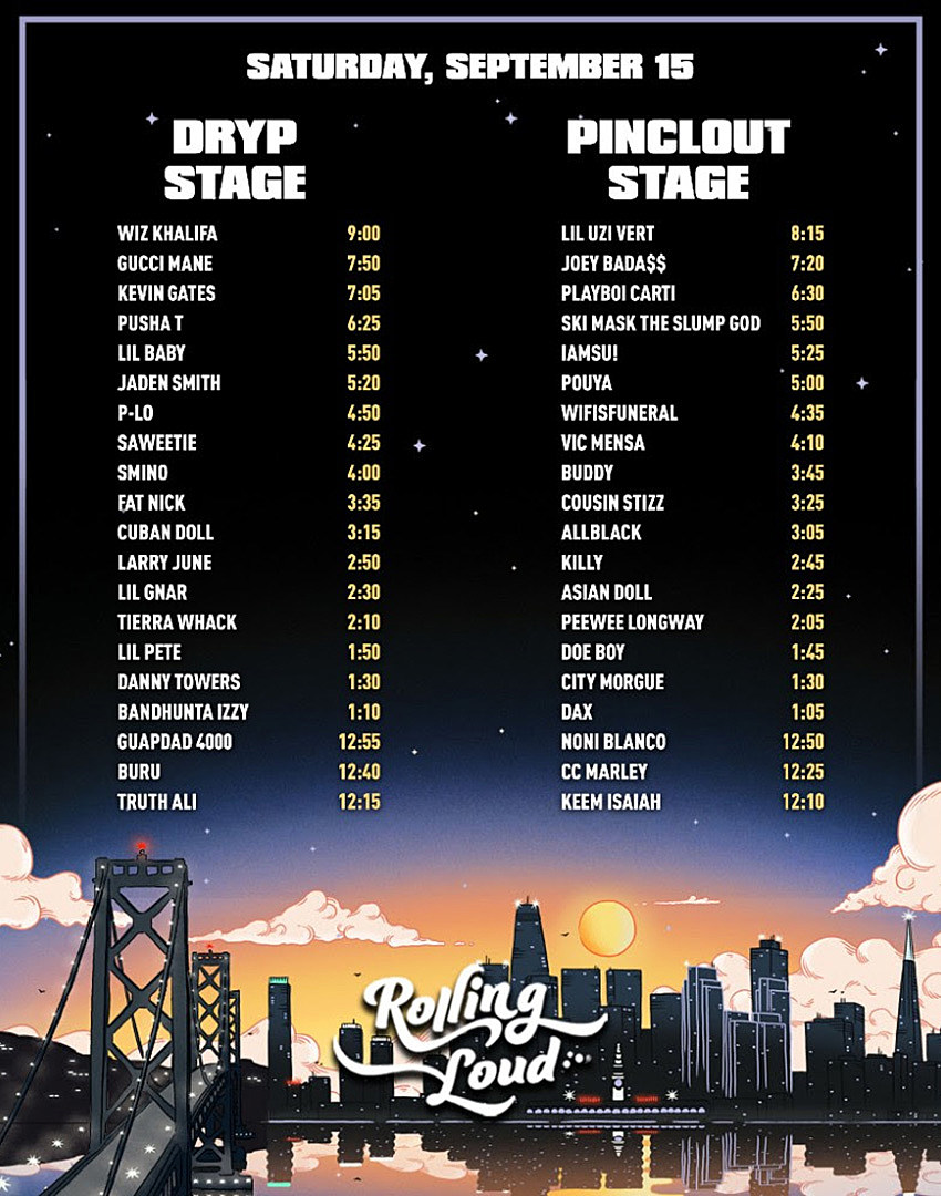 2018 rolling loud bay area livestream: watch wiz khalifa & more - xxl