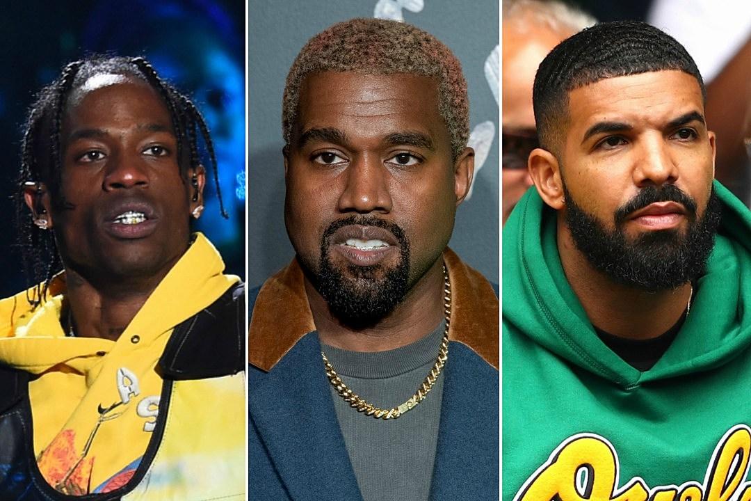 8d88ba4b3140 Kanye West Insists Travis Scott Let Drake Diss Him on \u201cSicko Mode\u201d  ...