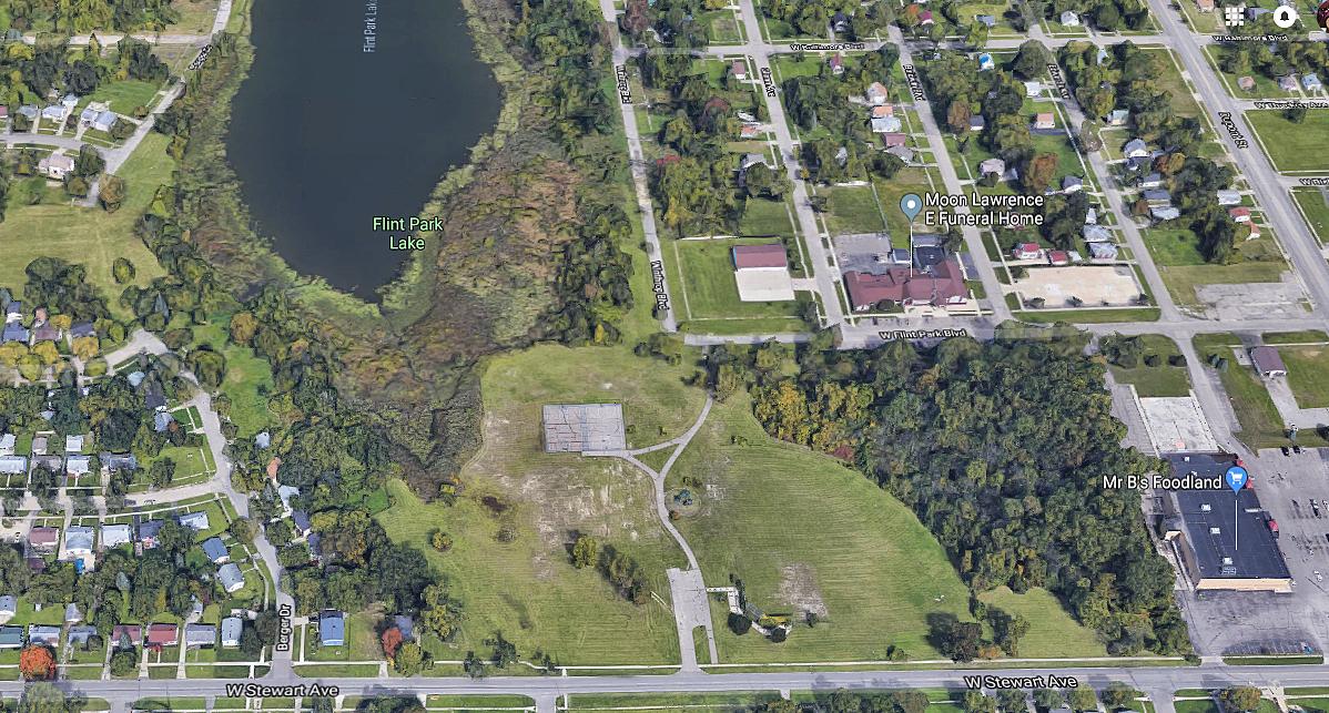 Flint Park Vehicle Citys Defunct Outdoor Amusement Park