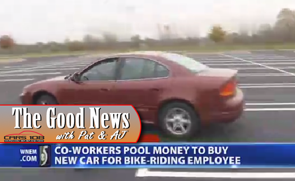 Employees Chip In To Saginaw Co Worker A Car The Good News Video