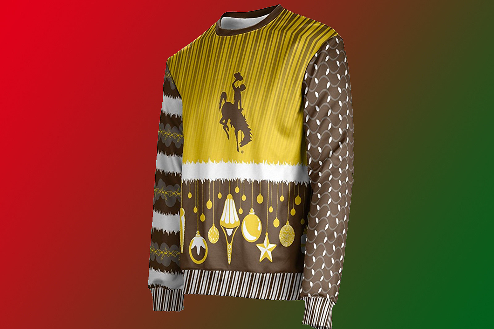 Ugly Christmas Sweaters For University of Wyoming Fans