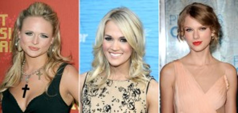 Carrie Underwood Taylor Swift Or Miranda Lambert Who Would You Want As A Sister