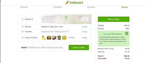 Liz Tried Wegmans Instacart Delivery - Here's Her Review