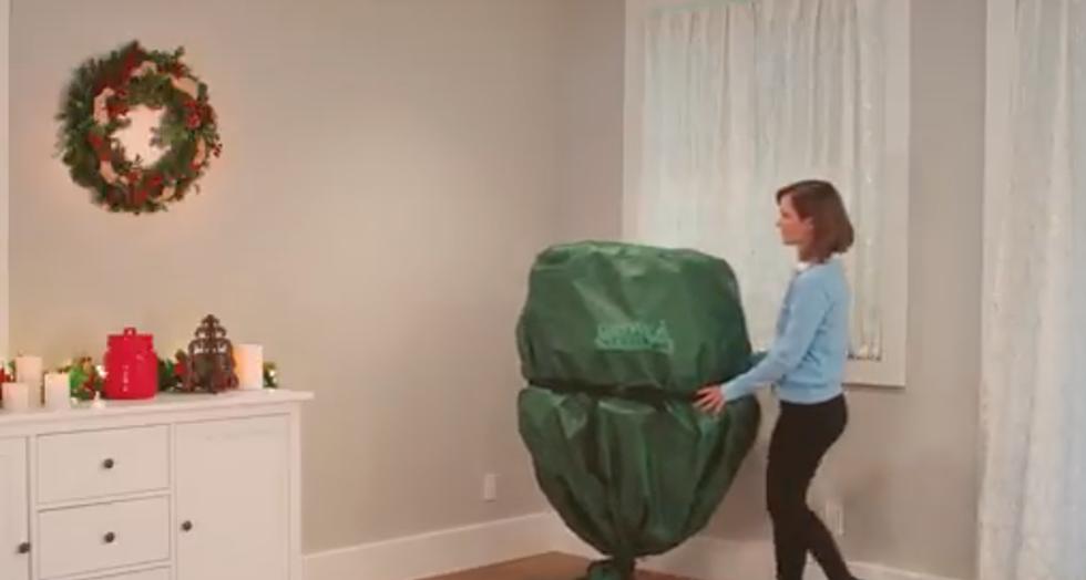 Pre Lit Christmas Tree That Puts Itself Up.There S Now A Christmas Tree That Puts Itself Up Video