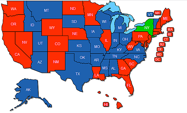 Here\'s The States That Recognize NY Pistol Permits